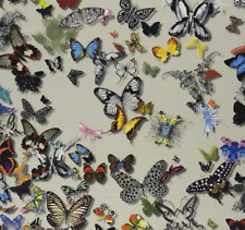 DESIGNERS GUILD/CHRISTIAN LACROIX COTTON  FABRIC  BUTTERFLY PARADE FCL025/02