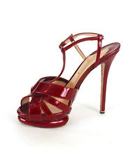 Nicholas Kirkwood Burgundy Patent Leather Pumps Sz 39/8.5 NEW $995
