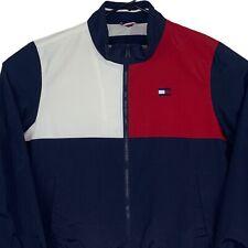New Tommy Hilfiger Windbreaker Jacket XL Blue Red White...