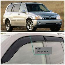 Wide Window Visors Side Guard Vent Deflectors For Suzuki Grand Vitara XL-7 99-06