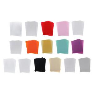 5pcs feuilles de papier rétractable multicolore papier thermorétractable