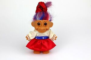 Vintage RUSS Troll American Outfit Independence Day Costume 4th July Cheerleader