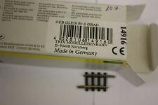 TRIX SPUR N 14916 GEBOGENE SCHIENE AUSGLEICHSTÜCK R1, 6 Grad  2 ST NEU! HB11