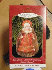 Hallmark Red Queen Alice in Wonderland Madame Alexander 1999 MIB Ornament