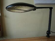 Waldmann Valencia-E Task Lighting Table / Desk Lamp with Mounting Clamp. Black.