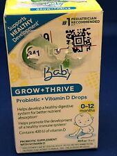 Culturelle Baby Grow & Thrive Probiotic & Vitamin D Drops - Exp 07/2021