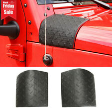 Side Hood Body Armor Cowl Cover Trim For Jeep Wrangler Jk 2007-2017 Accessories (Fits: Jeep)