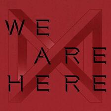 MONSTA X [WE ARE HERE] 2nd Album TAKE.2 RANDOM CD+Foto Buch+2p Karte+Pre-Order