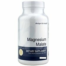 Magnesium Malate 120 capsules - Designs for Health