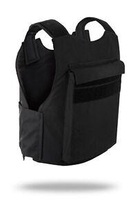 Hagor Israel Concealed 1642 Black BulletProof Vest NIJ Level 3A IIIA Body Armor