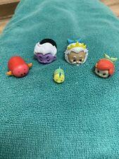 Disney The Little Mermaid Tsum Tsums - Ariel, Sebastian, Ursula, King Triton....