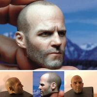 "Jason Statham 1/6 Scale Head Sculpt Model For 12"" Male Muscular Body Hot Toys"