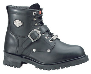 NEW Harley-Davidson Women's Motorcycle Boots D81024 Faded Glory Size 5.5 Wide