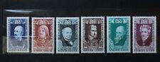 timbres poste France n° 1590 à 1595 Célébrités du XVIII