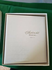 Hallmark Wedding Keepsake Album - Two Become One - Memories Photos - New in Box