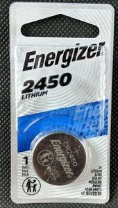 Energizer CR2450 ECR 2450 3v LITHIUM Coin Cell Battery Exp. 03/2030 New