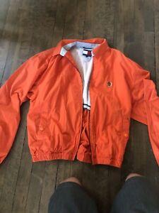 vintage tommy hilfiger windbreaker jacket. CLEAN