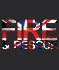 Fire and Rescue Service T-SHIRT HOODIE SWEATSHIRT printed front & back
