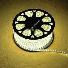 LUMPERIA® LED Leiste 230V 120° 3528-60 SMD/m alle Farben 1-100m IP67 Schlauch