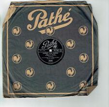 78T 25cm LES DANSES CARNET BAL Disque Phono. ORPHEE AUX ENFERS - PATHE 962 RARE