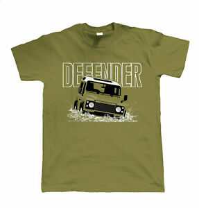 Massive Stock Clearance - Defender, Mens T Shirt - Off Roading 4x4 Gift Dad Him