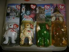 TY Beanie Teenie 'The Bear' Set from McDonalds. Tag charity. Pinchers included