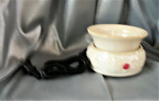 Candle Warmer Ceramic White (2-Piece ELECTRIC)