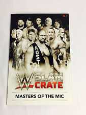 WWE MINI Encyclopedia VOL. 1 WWE Slam Loot Crate EXCLUSIVE April 2017
