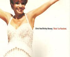 CHRIS REA w/ SHIRLEY BASSEY Disco REMIXES & UNRELEASE CD Single SEALED USA seler