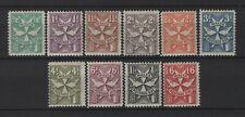 Malta - 1925 Postage Due set LHM