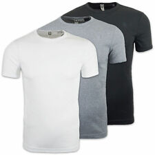 G-STAR T-SHIRT - DOUBLE PACK CREW NECK TEE - SLIM/REG FIT -BLACK/WHITE/GREY/BLUE