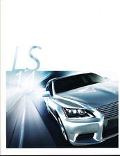 2014 Lexus LS LS460 LS600h 28-page Original Car Dealer Sales Brochure - F Sport