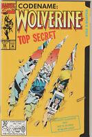 WOLVERINE #50 Vol. 2 (January 1992) X-Men Sabretooth Weapon X Marvel Die Cut