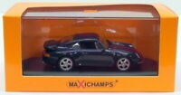 Maxichamps 1/43 Scale 940 069201 - 1993 Porsche 911 Turbo 993 - Metallic Blue