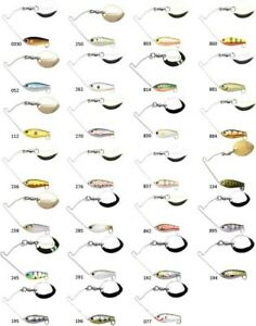 Lucky Craft Area's 3/16 oz 2cm 5,2g Spinner Baits (Various Colors)