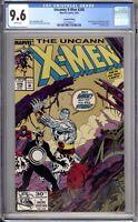 Uncanny X-Men 248 CGC Graded 9.6 NM+ 2nd Print Gold Marvel Comics 1992