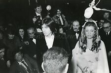 SHEILA RINGO MARIAGE 1974 EN MARIEE  VINTAGE PHOTO ORIGINAL #2