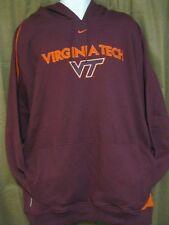 Vintage Nike Team Virginia Tech Hoodie sz XXL *NEW*