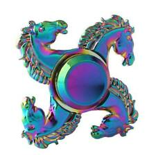 The Newest Colorful Horse Style Grateful Hand Spinner Fidget Toys EDC ADHD gift