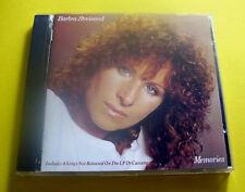 "CD "" BARBRA STREISAND - MEMORIES "" 14 SONGS (MEMORY)"