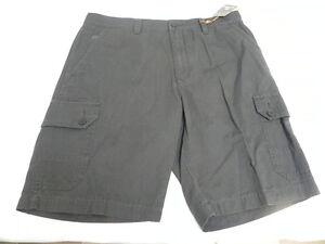 Quiksilver Waterman Collection Castaway Walkshorts Sz 34 Brown Plaid