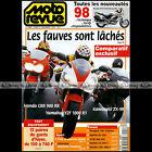 MOTO REVUE N°3305 YAMAHA YZF R1 HONDA CBR 900 RR 1000 F CB 500 S CHAMBON 1997