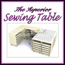 BonEful NEW Sewing LARGE Craft Storage Cutting Table Fabric Home Quilt Machine L