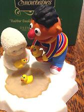Department 56 Snowbabies Ernie Sesame Stree Rubber Duckie Youre My Friend Box