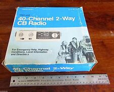 Vintage Realistic TRC-418 40-Channel 2-Way CB Radio 21-1511
