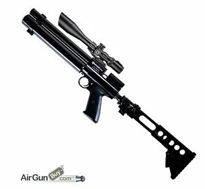Multi-Shot Side Lever PCP Carbine bundle .177 or .22