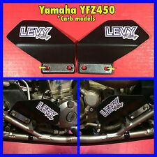 LevyRacing YFZ450 (carb model) Water Pump & Crankcase Cover Guards