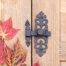 Schubriegel Türbeschlag als Antik - Verschluss für Gartentor oder Stall