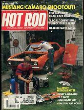 Hot Rod Magazine January 1984 Mustang Camaro Ex w/ML 113016jhe