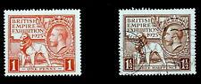 GB - 1925 : King George V -  British Empire Exhibition Dated 1925, Scott# 203-04
